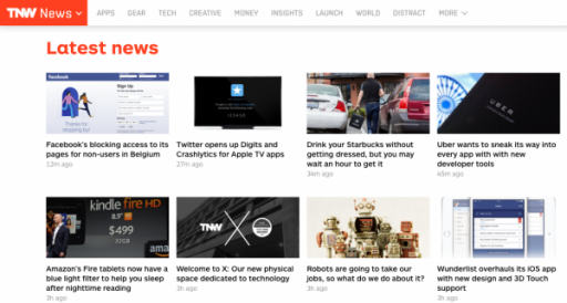 TheNextWeb Screenshot