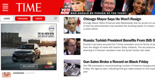 Time Magazine Screenshot