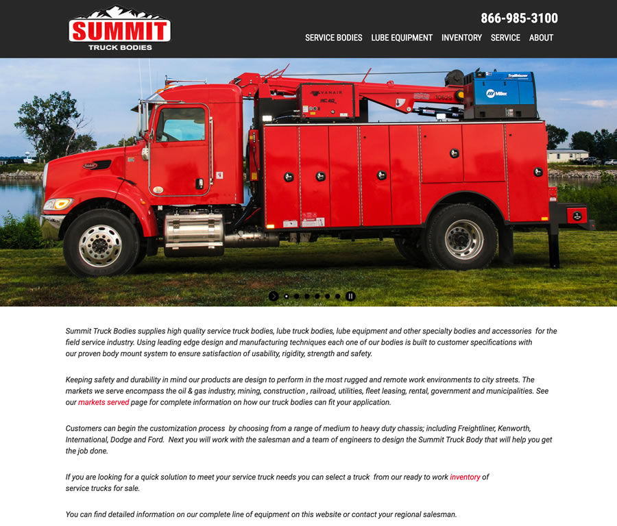 Summit Truck Bodies Home